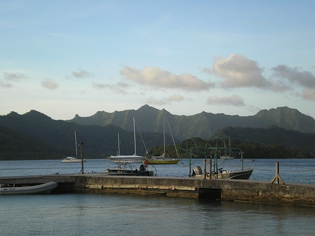 Apu Bay, Taha'a, French Polynesia